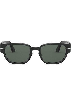Persol 52MM Strippe Square Sunglasses
