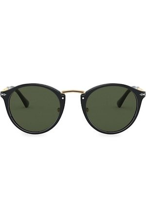 Persol 49MM Round Sunglasses