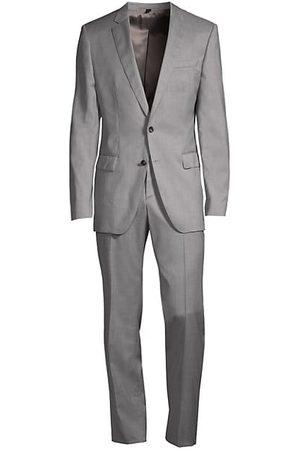 HUGO BOSS Huge Genius Slim-Fit Virgin Wool Suit