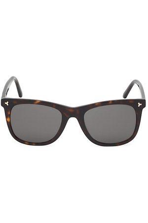 Bally 55MM Tortoiseshell Square Plastic Sunglasses