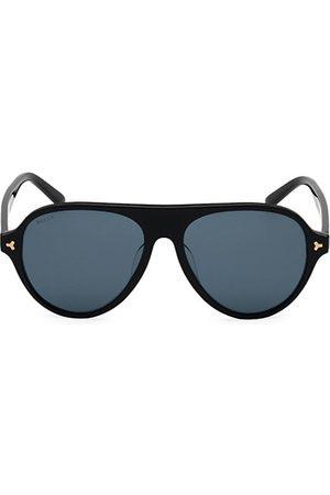 Bally 57MM Plastic Aviator Sunglasses