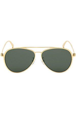Bally 61MM Metal Aviator Sunglasses