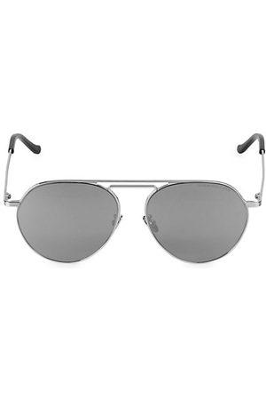 Cutler and Gross 58MM Metal Aviator Sunglasses