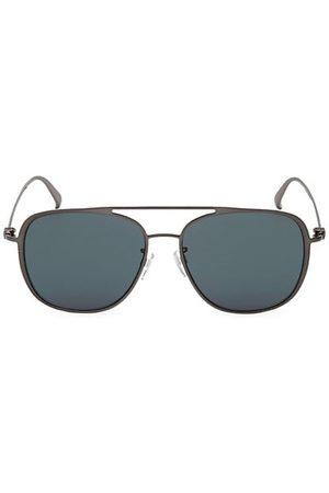 Bally 58MM Metal Square Sunglasses