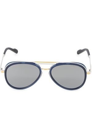 Cutler and Gross 58MM Two-Tone Aviator Sunglasses