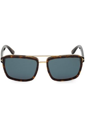 Tom Ford 58MM Plastic Square Sunglasses