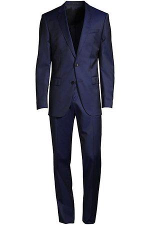 HUGO BOSS Men Suits - Huge Genius Slim-Fit Virgin Wool Suit