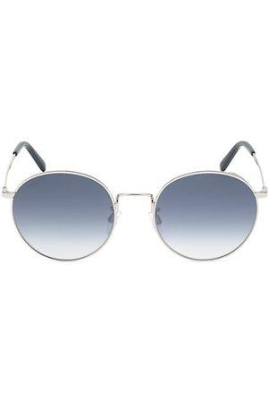 Bally 54MM Metal Round Sunglasses