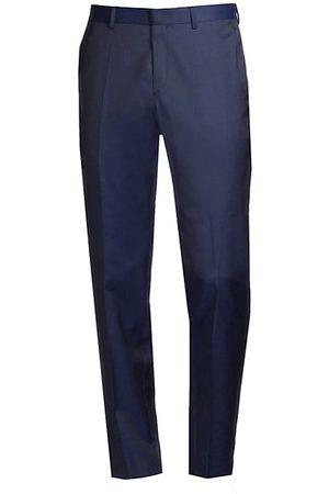 HUGO BOSS Genesis Slim-Fit Stretch Wool Trousers
