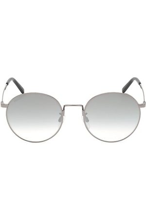 Bally 54MM Metal Round Sunglasses
