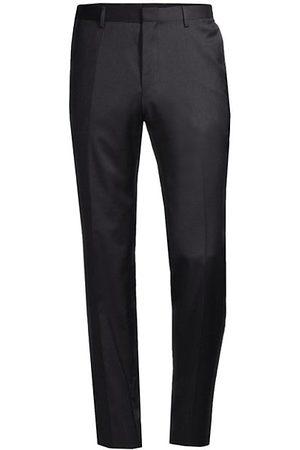 HUGO BOSS Men Formal Pants - Genesis Slim-Fit Stretch Wool Trousers