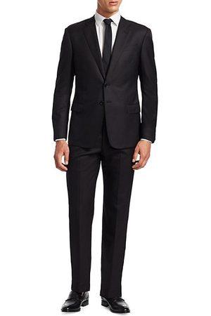 Armani Men Suits - Basic Wool-Blend Suit