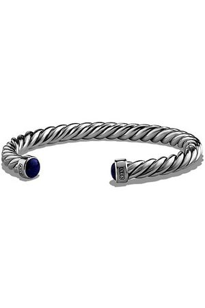 David Yurman Men Bracelets - The Cable Lapis Lazuli & Sterling Cuff Bracelet