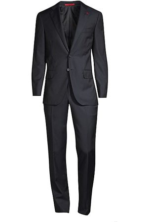 ISAIA Men Suits - New Sanita Basic Wool Suit