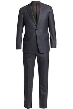 Armani Men Suits - Regular-Fit Wool Suit