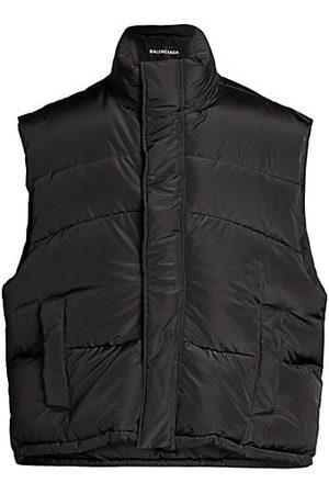 Balenciaga Men Parkas - Sleeveless Puffer Vest