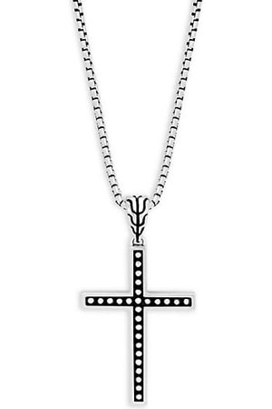 John Hardy Men Necklaces - Classic Cross Pendant Necklace