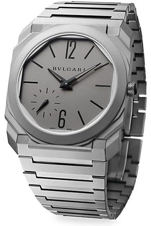 BVLGARI Men Watches - Octo Finissimo Titanium Bracelet Watch