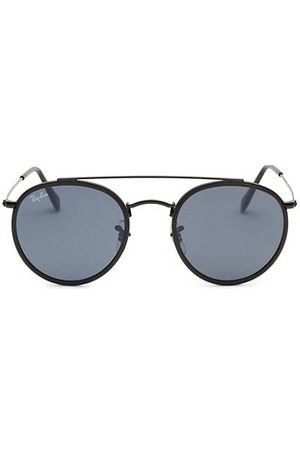 Ray-Ban RB3647 51MM Round Aviator Sunglasses