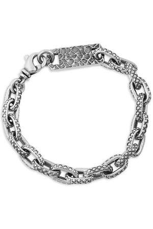 King Baby Studio Oval Link Sterling Bracelet