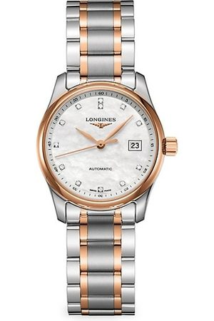 Longines Men Watches - Two-Tone Stainless Steel Bracelet Watch