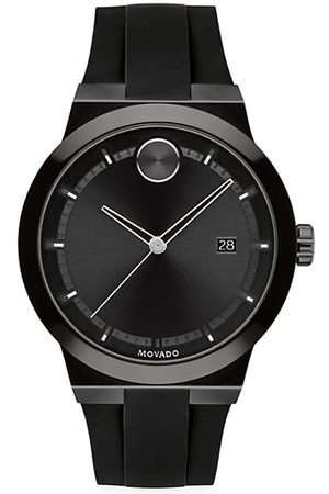 Movado BOLD Fusion Stainless Steel Silicone Strap Watch