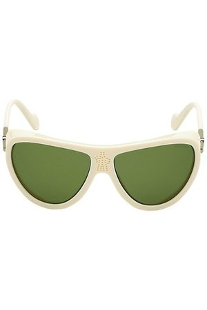 Moncler 50MM Cat Eye Shield Sunglasses