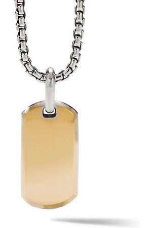 David Yurman The Streamline Collection Sterling & 18K Yellow Enhancer Pendant
