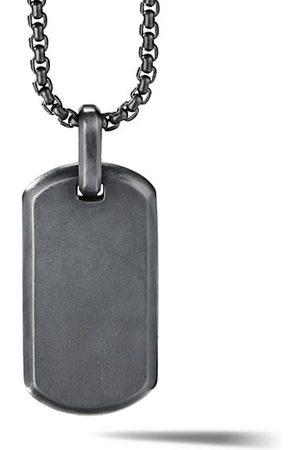 David Yurman Men Necklaces - The Streamline Collection Titanium Tag Enhancer Pendant