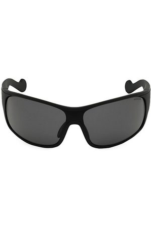 Moncler 50MM Wrap Sunglasses