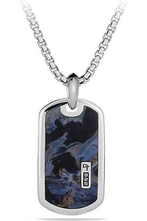David Yurman Men Necklaces - Exotic Stone Dog Tag