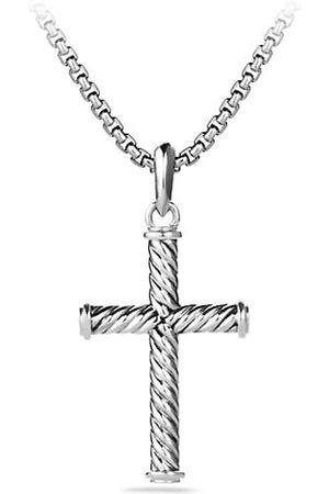 David Yurman Cable Cross Pendant