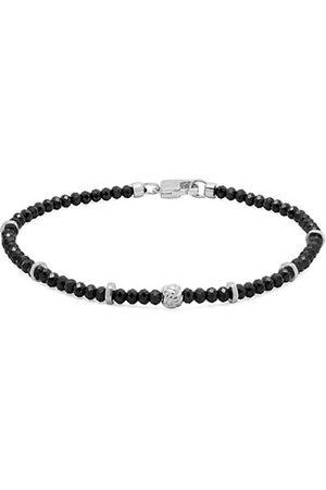 Tateossian Men Bracelets - Sterling & Spinal Beaded Bracelet
