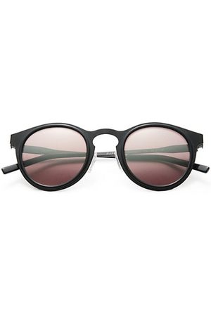 KYME Men Sunglasses - Miki 46mm Round Mirror Sunglasses