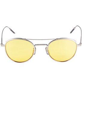 Oliver Peoples Men Sunglasses - 47MM Round Titanium Sunglasses