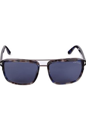 Tom Ford Sunglasses - 58MM Plastic Square Sunglasses