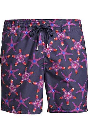 Vilebrequin Moorea Starfish Print Swim Trunks