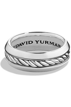 David Yurman Men Rings - Cable Collection Sterling Ring