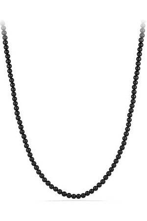 David Yurman Men Necklaces - Spiritual Bead Onyx Necklace