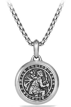 David Yurman Men Necklaces - The Amulets Sterling Silver St. Christopher Amulet