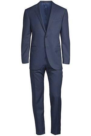 corneliani Men Suits - Academy Solid Suit