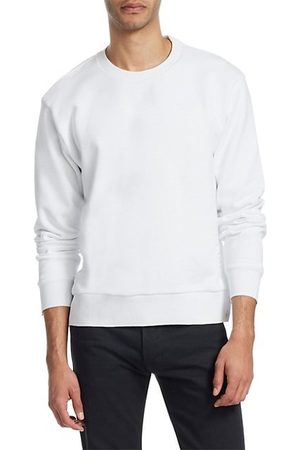 Thom Browne Men Jumpers - Crewneck Cotton Sweatshirt