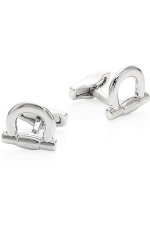 Salvatore Ferragamo Men Neckties - Gancini Whale Back Cuff Links