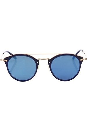 Oliver Peoples Men Sunglasses - Remick 50MM Round Sunglasses