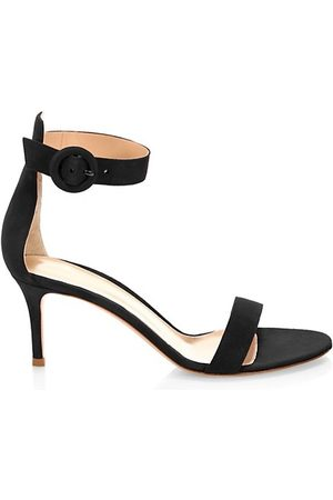 Gianvito Rossi Sandals - Portofino Suede Sandals