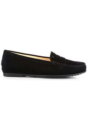 Tod's Loafers - Gommino Suede Driving Loafers