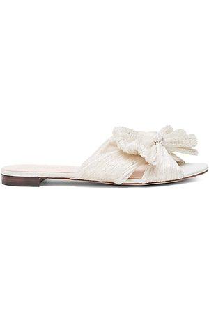 Loeffler Randall Sandals - Daphne Flat Metallic Sandals