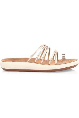 Ancient Greek Sandals Sandals - Hypatia Metallic Flatform Sandals