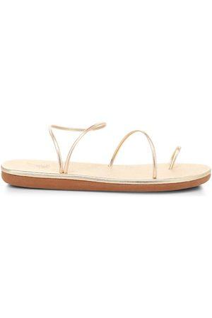 Ancient Greek Sandals Sandals - Kansiz Metallic Toe-Loop Sandals