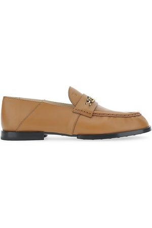 Tod's Loafers - Chain Leather Loafers